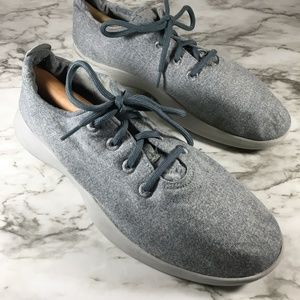 Allbirds Wool Runners Blue-Gray With Gray Sole